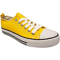 Shop Pretty Girl Women's Sneakers Casual Canvas Shoes Solid Colors Low Top Lace Up Flat Fashion