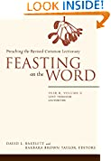 #1: Feasting on the Word: Year B, Volume 2: Lent through Eastertide (Feasting on the Word: Year B volume)