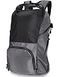 Hiking Backpack ,30L-40L Foldable Casual Daypack Water resistant travel bag VONXURY