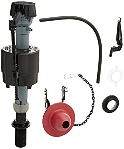 Fluidmaster 400CRP14 Toilet Fill Valve And Flapper Repair Kit Faucet Trim K