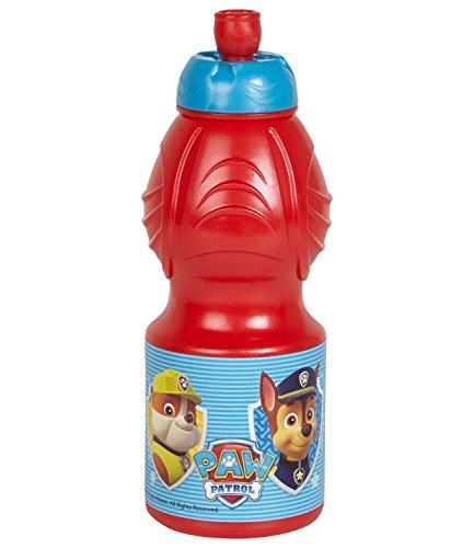 Paw-Patrol-Chicos-Botella-Rojo
