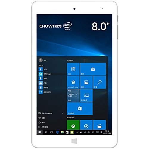 C&C Products Chuwi HI8 Pro 32GB Intel Z8300 Quad Core 1.84GHz 8 Inch Dual OS Tablet by C & C