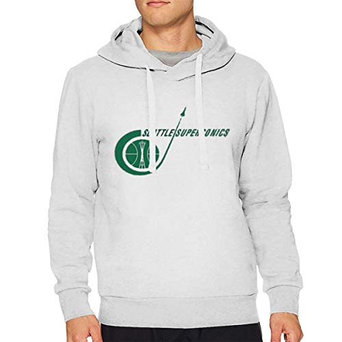 Sbbiegen886wo Mans Seattle Supersonics Retro Basketball Logo 3D Printed Hooded Sweatshirt S for $<!--$34.99-->