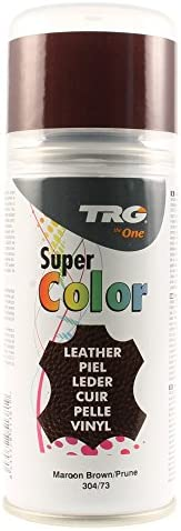 TRG Super Spray, 150 ml, & Leinwand-Dye-Effekt, Vinyl (maroon brown)
