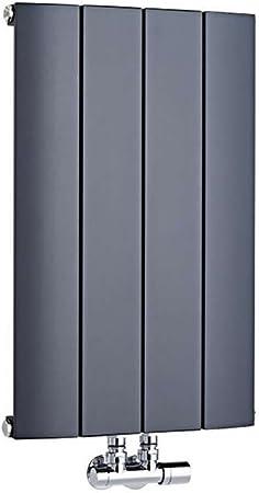 Hudson Reed Aurora Radiateur Design Horizontal Aluminium 60 x 37,5cm Anthracite