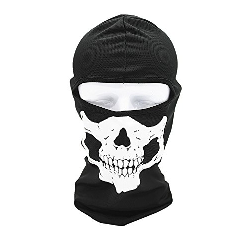 yijiamaoyiyouxia Tactical Motorcycle Cycling Hunting Outdoor Ski Face Mask Helmet (A)