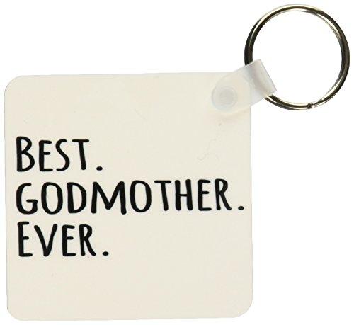 3d Rose 3dRose Best Godmother Ever - Gifts for God mother...