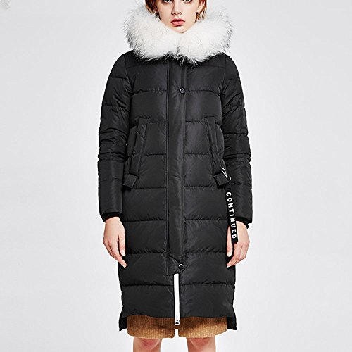 collar large coat available optional B Size loose Ms Long down QFFL jacket jacket colors 3 paragraph qPTxYXww