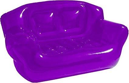 The U0026quot;Superu0026quot; Inflatable Bubble Sofa: Purple