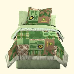 John Deere Bedding Boys Quilt And Sham Set, Full/Queen Size