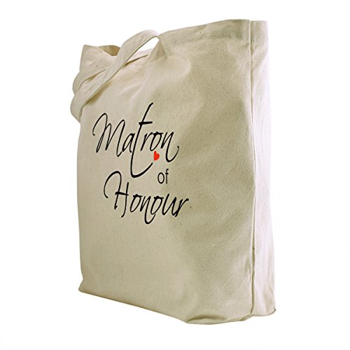 Honour 1 Party Gifts of Favour Bag Bridesmaid Matron Cotton ElegantPark Canvas Honour of Tote Wedding Pcs Maid Hen 100 UBw6q8