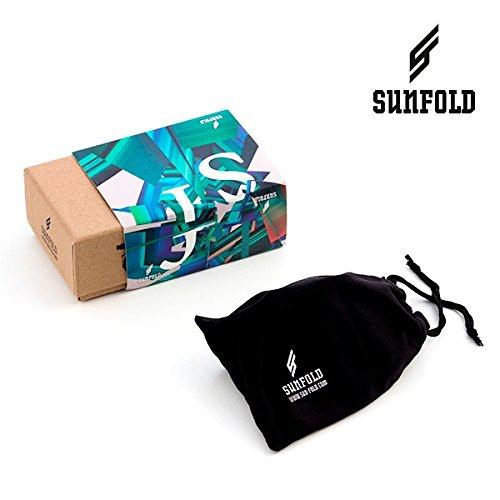 Sunfold Eternal Sunshine Gafas de Sol Enrollables Hombre Talla /Única Negro
