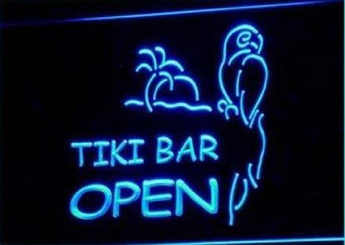 BestProductAsia Open Tiki Bar New Displays Pub Neon Light Sign (Tiki Bar Neon)