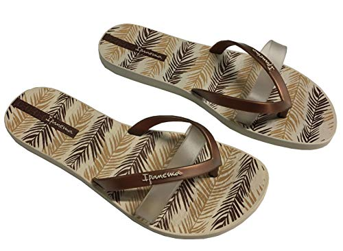 Unisex y Chanclas Sislk Raider Adulto Playa de 21539 Kirei Beige Piscina Ip82289 Ipanema Zapatos Multicolor zpxaU0x