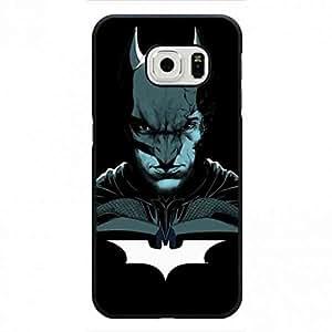 Batman Case Cover, Popular Case Shell, Black Background Case Cover, Samsung Galaxy S6Edge Case Back TPU Case Shell