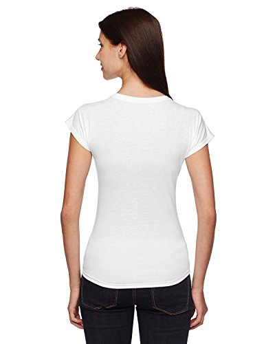 Donna Anvil shirt T bianco Bianco xwxO6PqS