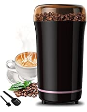 TOPERSUN Electric Coffee Grinder Multigrinder 300W with Stainless Steel Blade for Coffee Beans Spice Grinder Pepper Seeds