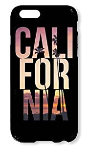 iPhone 6 Case AOFFLY Cali For Nia California Black Hard Case for Apple iPhone 6 4.7Inch