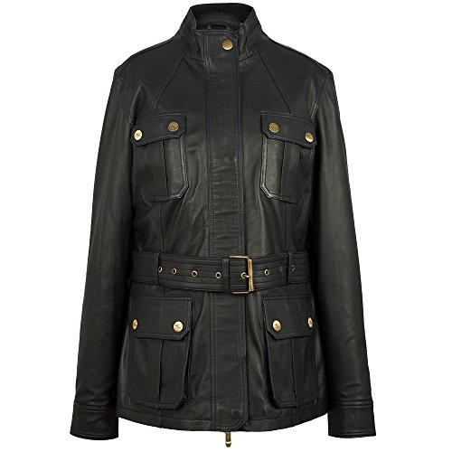 Navy Giacca Pelle Land Donna In Da 12 Rover 51ldjw595nvk Heritage Taglia wOWnqWHU