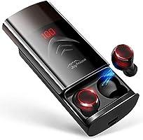 最新Bluetooth5.0+EDR搭載 Bluetooth イヤホン LEDディスプレイ Hi-Fi 高音質 3Dステレオサウンド 6000mAh大容量充電ケース付き 完全ワイヤレス イヤホン 自動ペアリング 両耳 左右分離型...