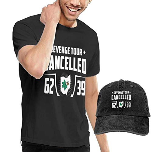Arsmt Revenge Tour Cancelled Shirts Short Sleeve Denim Hat Male -
