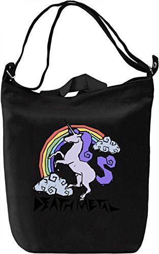 Death Metal Borsa Giornaliera Canvas Canvas Day Bag| 100% Premium Cotton Canvas| DTG Printing|