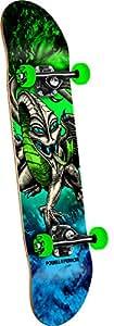 Powell-Peralta Mini Cab Dragon Storm Complete Skateboard, Green