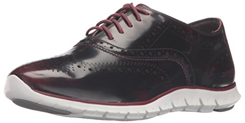 Cole 5 Haan Off Zinfandel Red White Brush Oxford Women's Optic 6 Wing UK Zerogrand Leather rdHRxrq0w