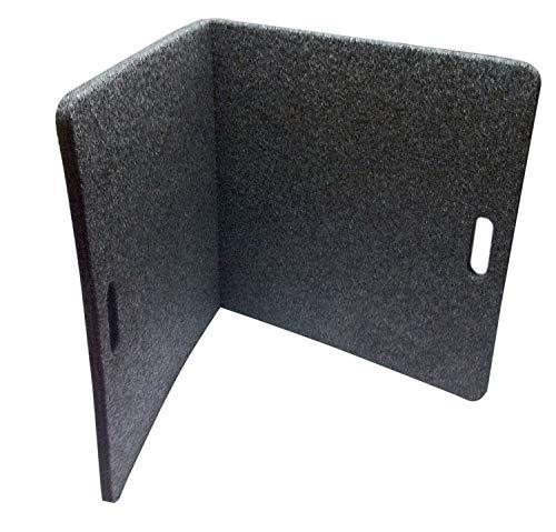 Bedrug TW2X4MAT TrailerWare Charcoal Grey 2' x 4' Folding Track Mat