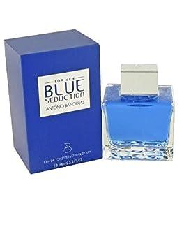 Blue Seduction by Antonio Banderas for Men. Eau De Toilette Spray 3.4-Ounces