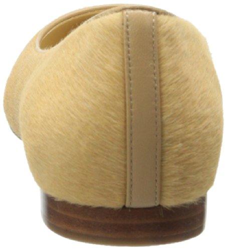 Cole Haan Magnolia Ballet Flat Sandstone Baby Haircalf