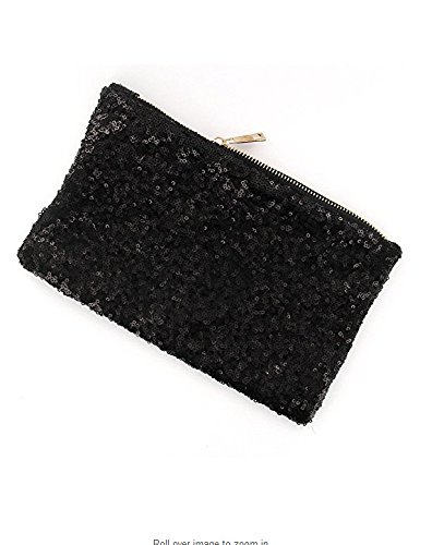 Sequinned Glittering Bag Hand Wedding Pink Elegant Lady Luxury Vintage Black Party YOIL Evening UAqXOR