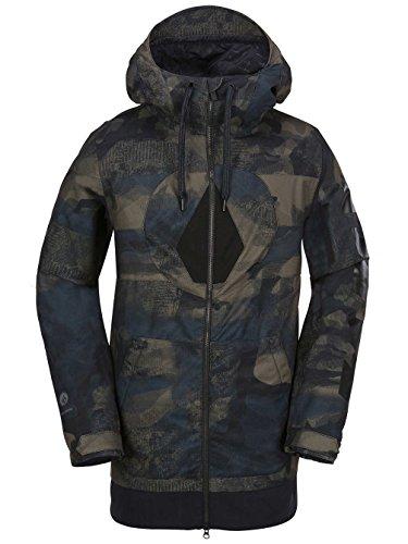 Volcom Snow  Men's Hal Jacket Camouflage Large