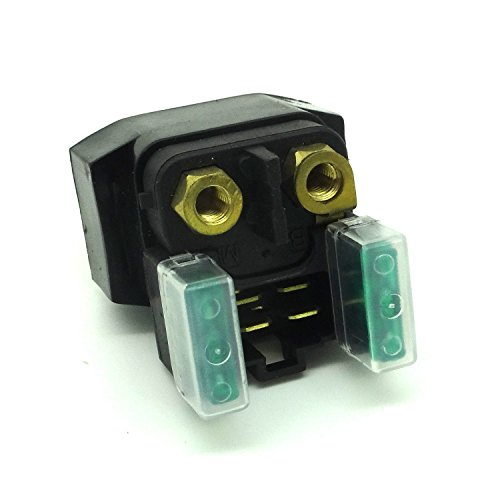 Photo Starter Solenoid Relay for Yamaha YFM 350/400/450/660 Grizzly Kodiak Raptor Wolverine Big Bear