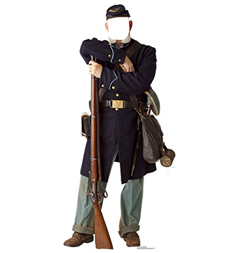 Soldier Cut Out - Union Civil War Soldier Stand-In - Advanced Graphics Life Size Cardboard Standup