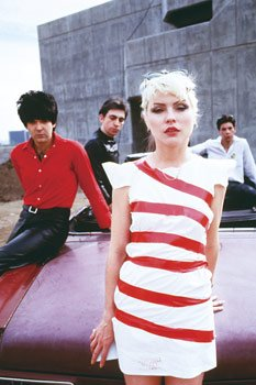 Blondie Poster Candy Stripe