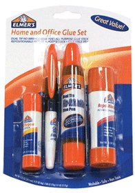 Elmer's 4-Piece Office Glue Pack