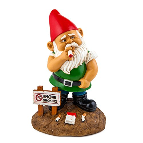 BigMouth Inc. The gNOme Smoking Garden Gnome