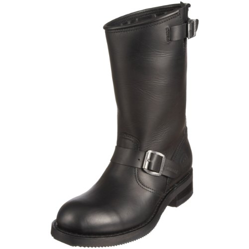Sendra Boots Carol, Herren Bikerboot / Stiefel Schwarz