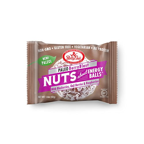 - Betty Lou's Paleo Berry Blast Nut Balls