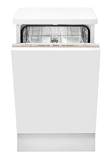 Amica EGSP 14768 V lavavajilla Totalmente integrado 9 cubiertos A+ ...