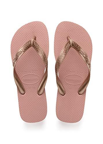 Havaianas Top Tiras Flip Flop Sandal, Rose Nude, ((7-8 M US Women's / 6-7 M US Men's) (Havaianas Pink)
