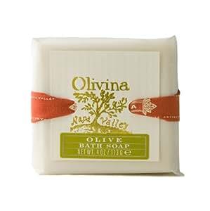 Olivina Bath Soap, Classic Olive, 4 Ounce