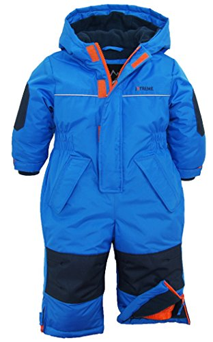 iXtreme Baby Boys Snow Mobile, Blue, 24M