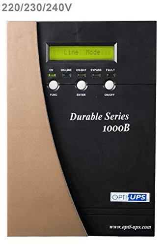 - OPTI-UPS DS1000B-2X IEC OUTLES Online Sinewave Double Conversion Uninterruptible Power Supply Mission Critical Protection Surge