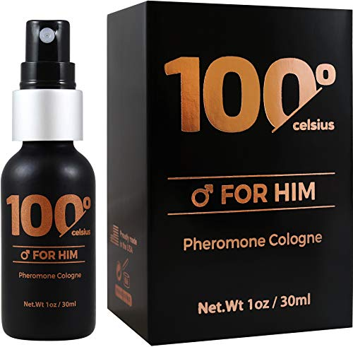 Cologne For Men, Pheromones To Attract Women- Perfume To Boost Your Presence- Bold, Extra Strength Formula. Alcohol Free