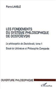 Book's Cover ofLa philosophie de Dostoïevski