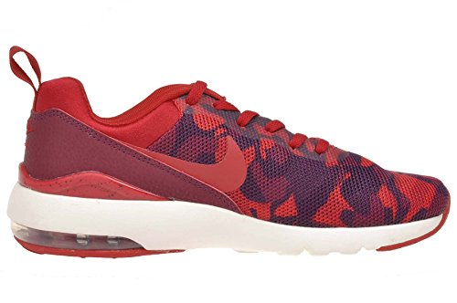 Nike Womens Wmns Air Max Siren Print, DEEP GRANITE/GYM RED-SAIL-BRIGHT CRIMSON Deep Granite/Gym Red-sail-bright Crimson