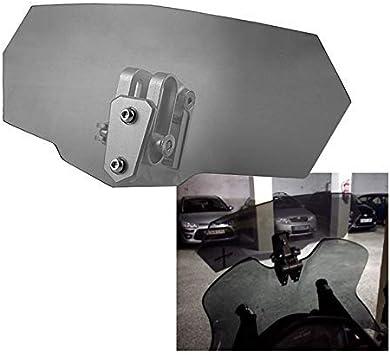Putuio Acrilico Parabrezza Estensione Vento Deflettore Moto Ricambio Accessori Moto Parte Bianco