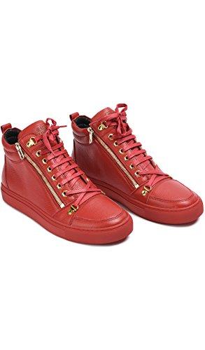 BLACK KAVIAR - Sneakers ASHOE03 - Man - 7,5 - Red
